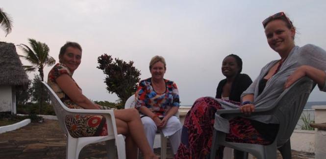 Team Building Africa RKA ink Web Design with Heart