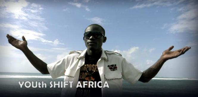 Wake Up YOUth Shift Africa RKA ink Web Design with Heart