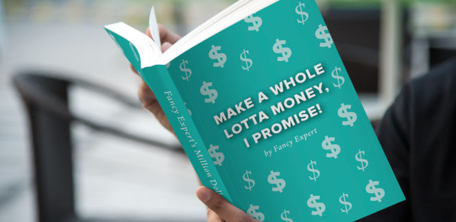 Make a Whole Lotta Money, I Promise! by Fancy Expert