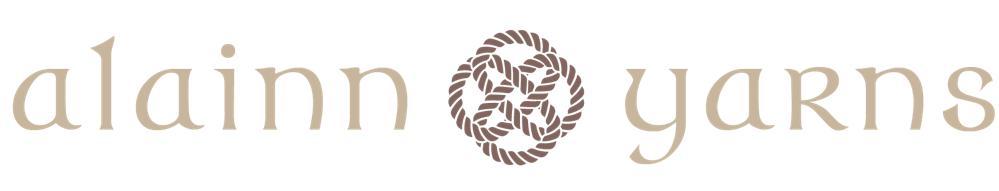 Alainn Yarns Identity Logo Design RKA ink