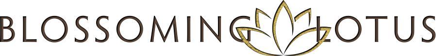 Blossoming Lotus Logo Design RKA ink