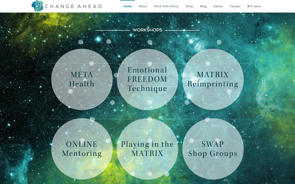 Change Ahead Custom WordPress Web Design