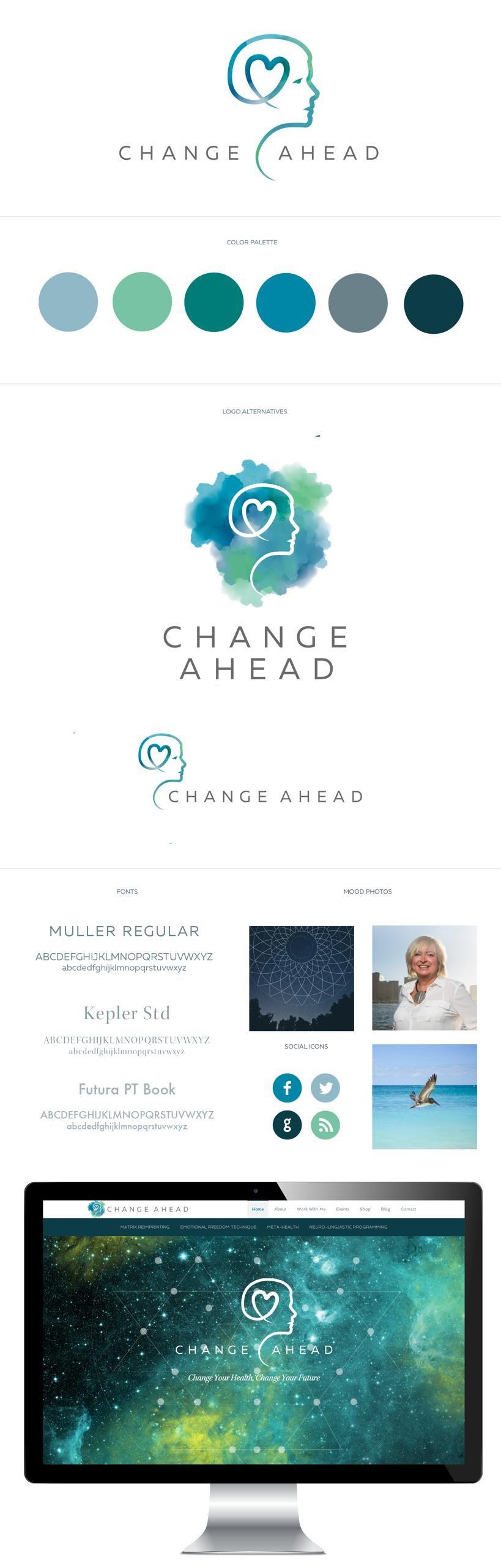Change Ahead Identity Design RKA ink