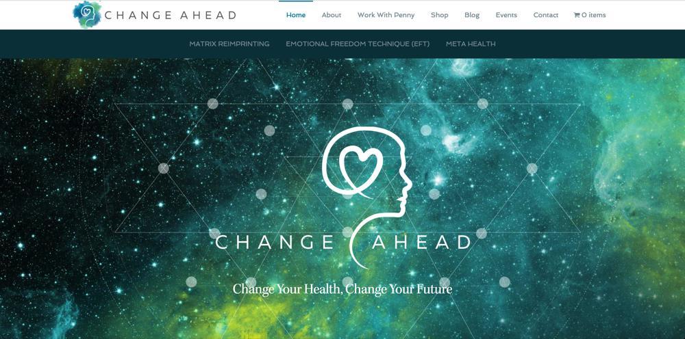 Change Ahead WordPress Web Design RKA ink