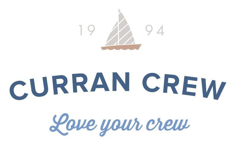Curran Crew Logo Design RKA ink