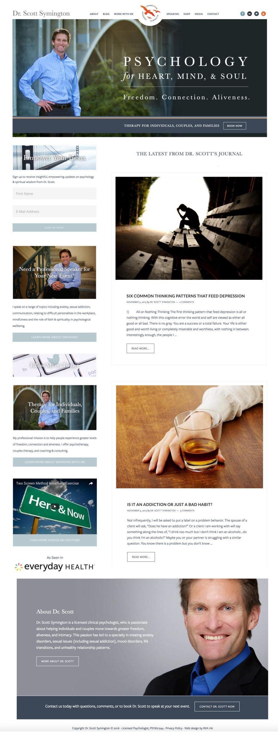 Dr-Symington-Custom-WordPress-Web-Design-Genesis-RKA-ink