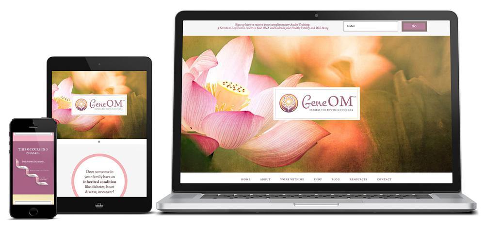 GeneOM-Custom-Web-Design-RKA-ink