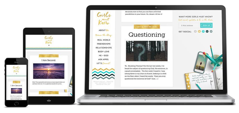 Girls-Must-Know-Custom-WordPress-Web-Design-Genesis-RKA-ink
