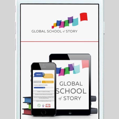 Global School of Story Custom WordPress Web Design by RKA ink