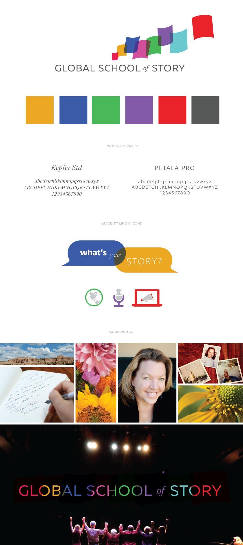 Global School of Story Identity Design RKA ink