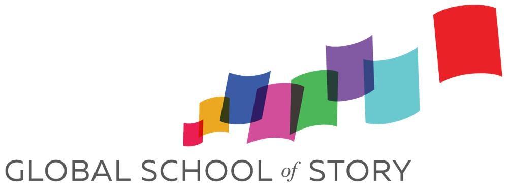 Global School of Story Logo Design