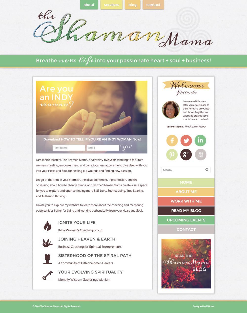 Janice Masters Custom WordPress Web Design RKA ink