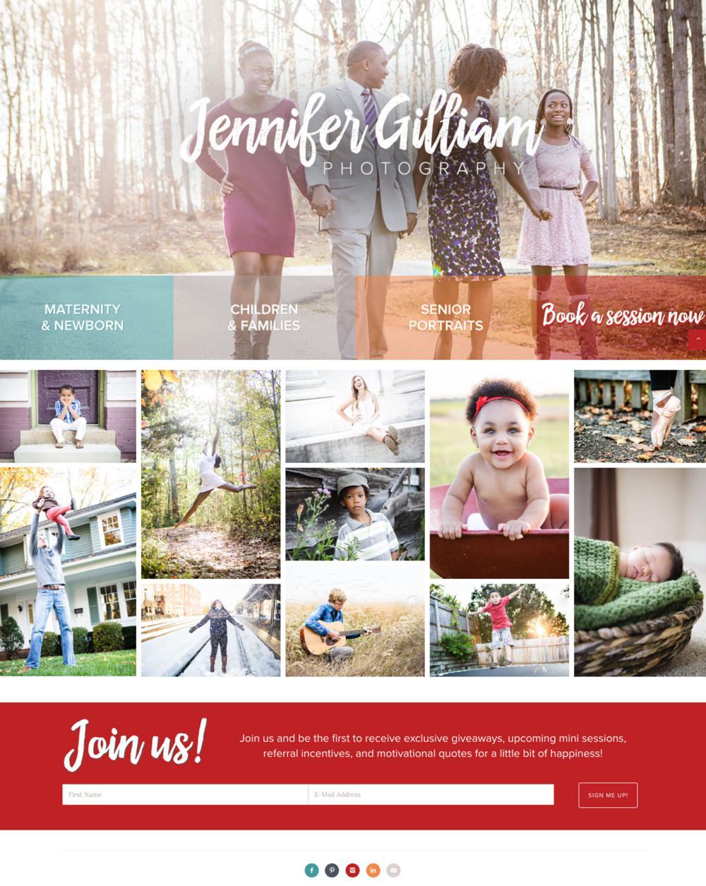 Jennifer-Gilliam-Custom-WordPress-Web-Design-RKA-ink