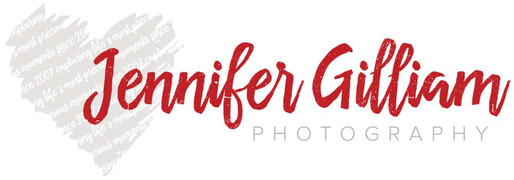 Jennifer Gilliam Logo Design RKA ink