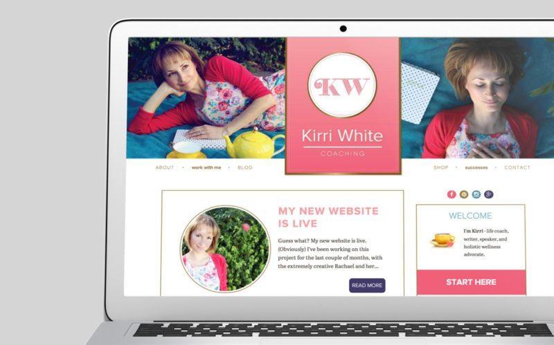 Kirri White Custom WordPress Web Design by RKA ink