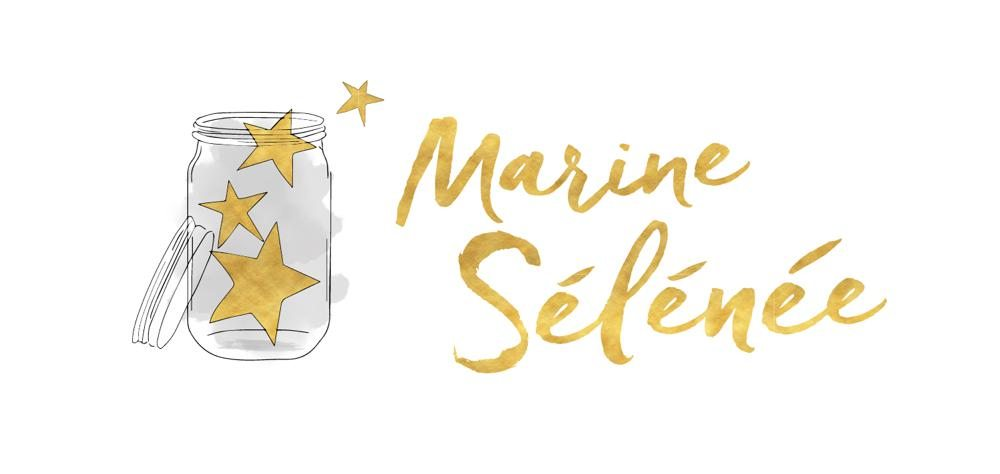 Marine Selenee Logo Design