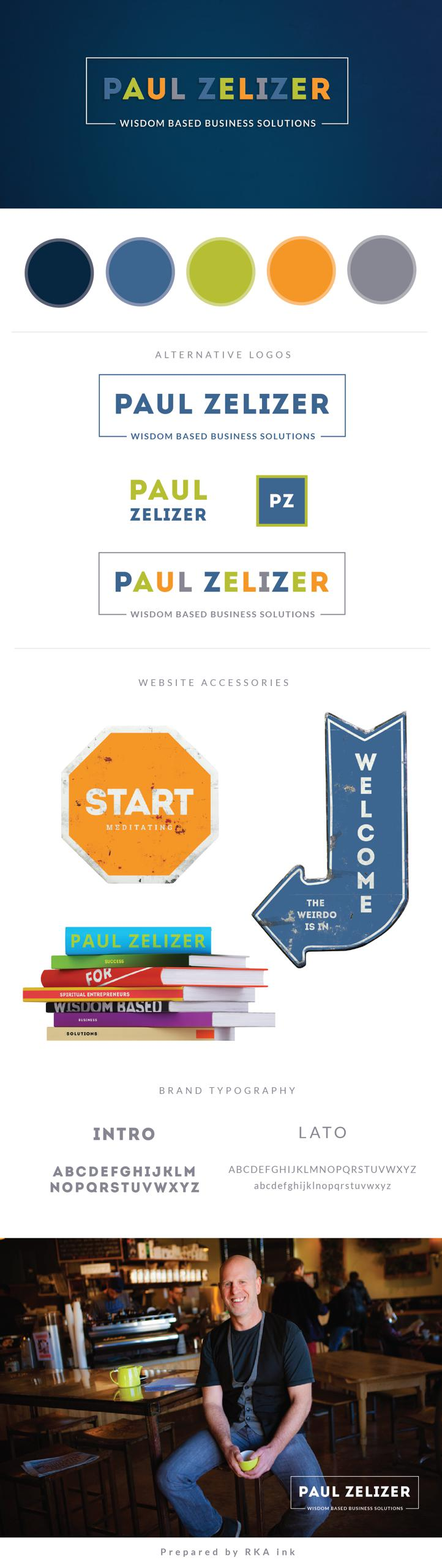 Paul Zelizer Identity Design RKA ink