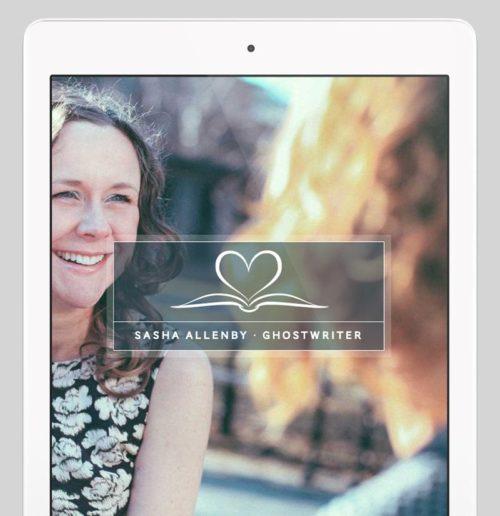 Sasha Allenby Custom WordPress Web Design by RKA ink