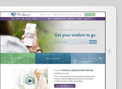 Share Wisdom Custom WordPress Web Design by RKA ink