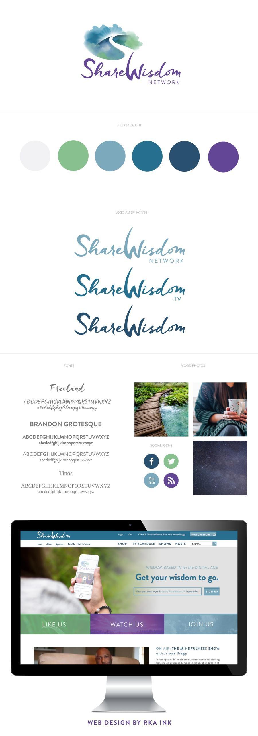 Share Wisdom Identity Design RKA ink