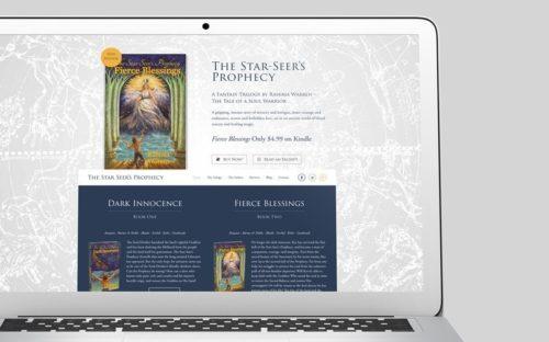 The Star Seer's Prophecy Custom WordPress Web Design by RKA ink