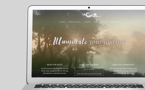 The Baca Journey Custom WordPress Web Design by RKA ink
