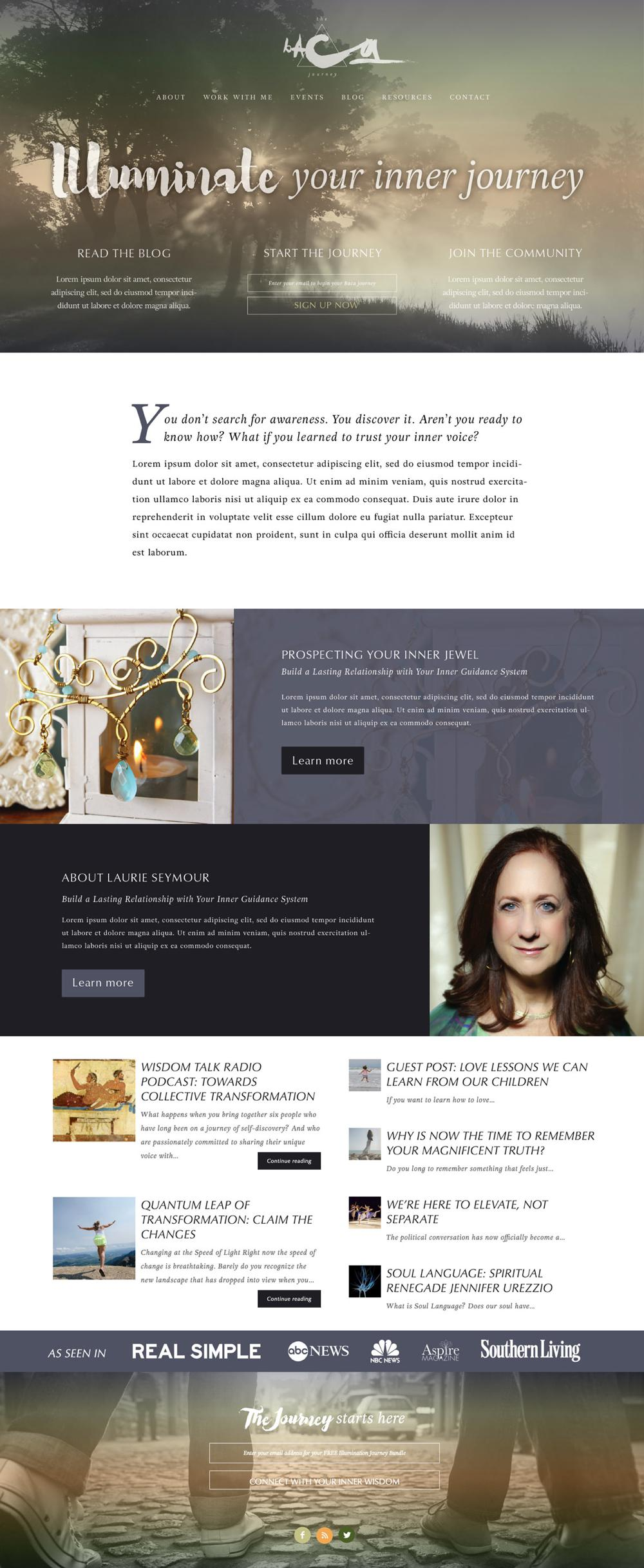 The-Baca-Journey-WordPress-Web-Design-RKA-ink