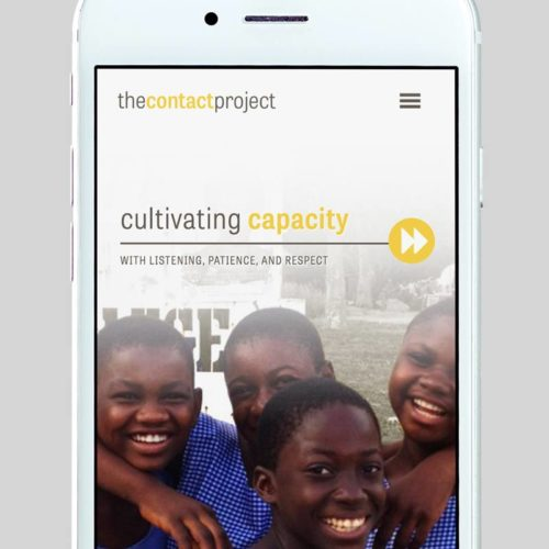 The Contact Project Custom WordPress Web Design by RKA ink