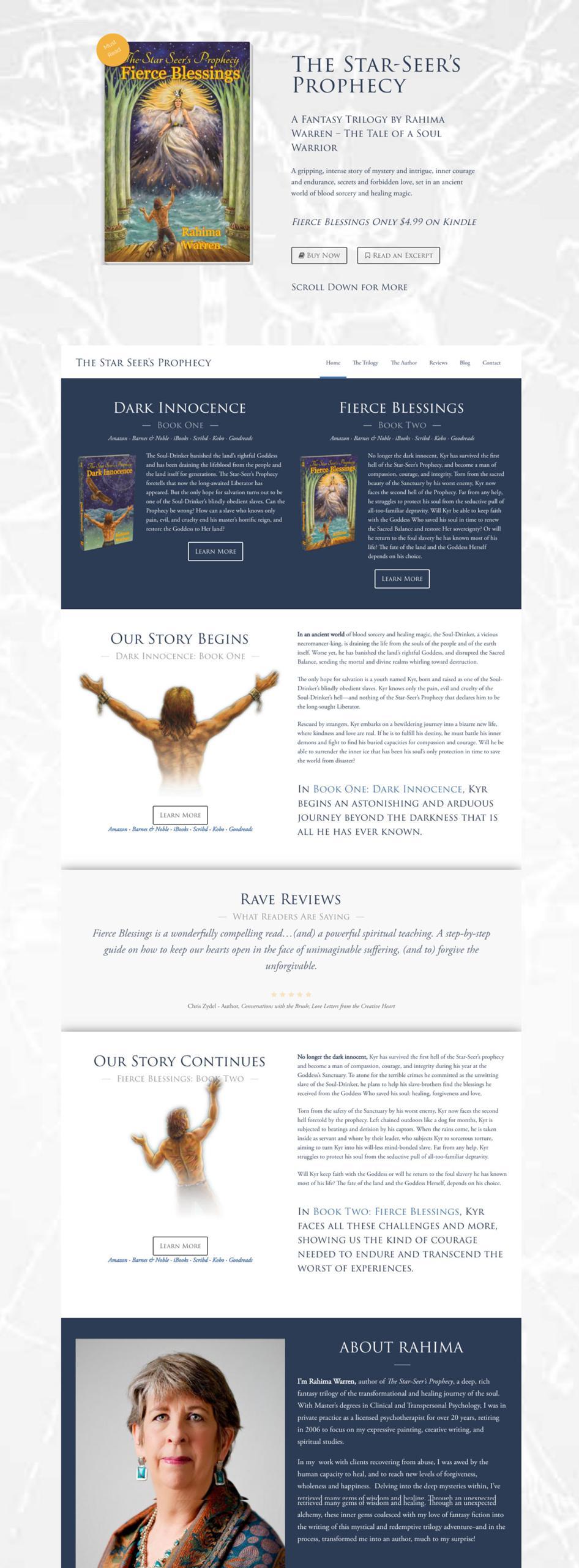 The-Star-Seers-Prophecy-Custom-WordPress-Web-Design-RKA-ink