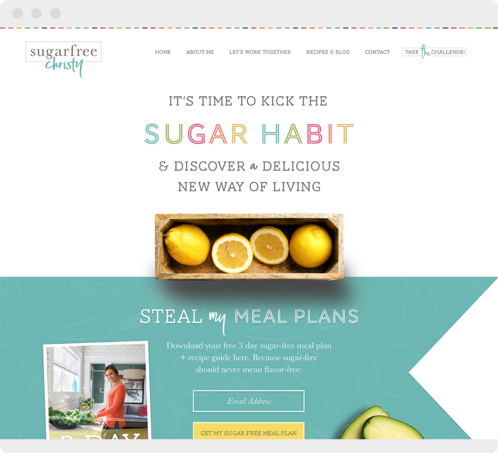Sugar-Free-Christy-Web-Design-Portfolio