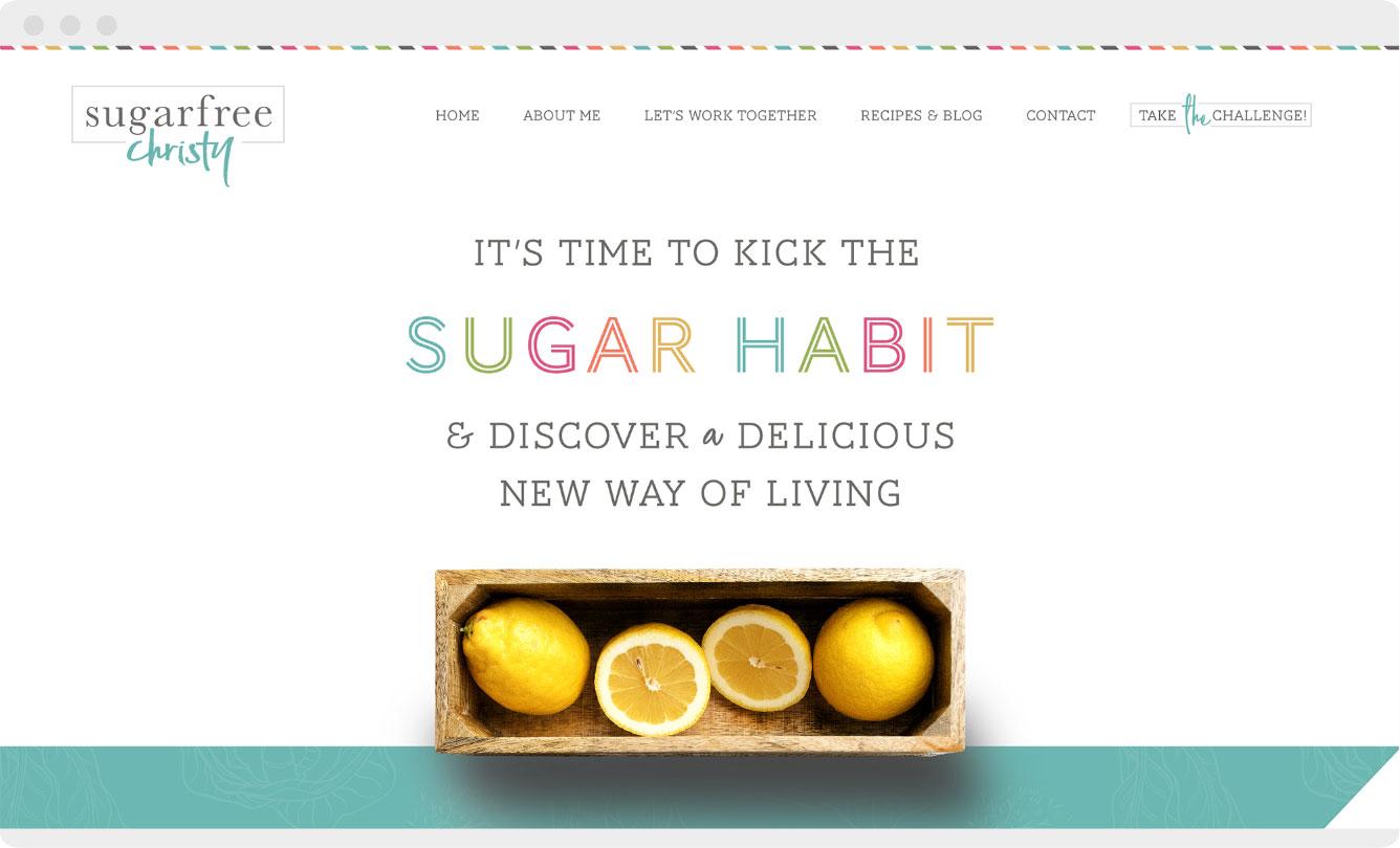 Sugar-Free-Christy-Website-Design-RKA-ink
